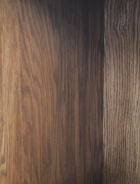 Minwax Water Based Stain on Oak Hardwood Plywood   Ana White