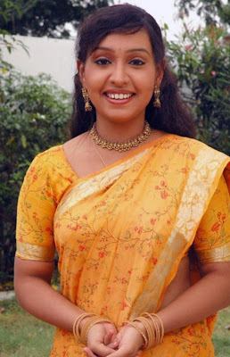 Lalitha Tamil Tv Actress In Saree Stills Photos