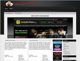 Online Casino Template 909