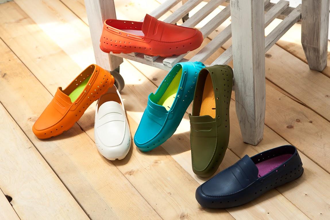 *來自美國加州PONIC 輕量膠鞋:首度引進3NITY獨家販售! 2