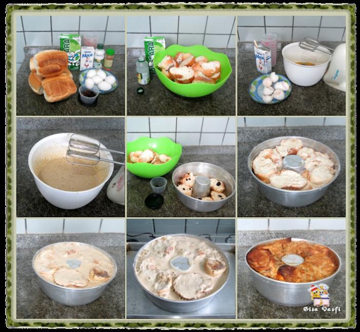 Pudim de pão 2