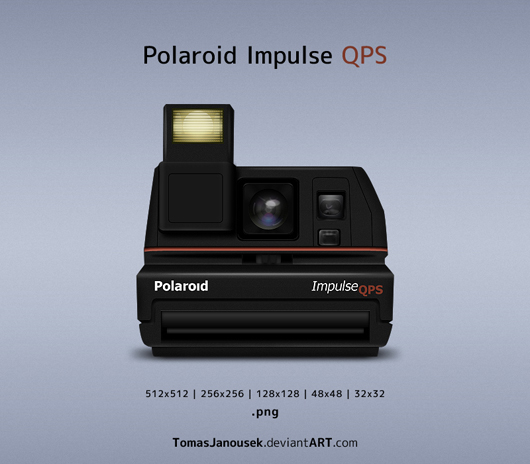 Ícone Polaroid Impulse