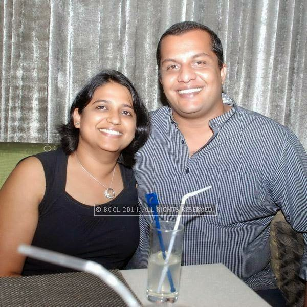 Tara and Navin enjoy an elaborate and exotic fare at the Sunday brunch at Feast, Hotel Sheraton, in Bangalore.