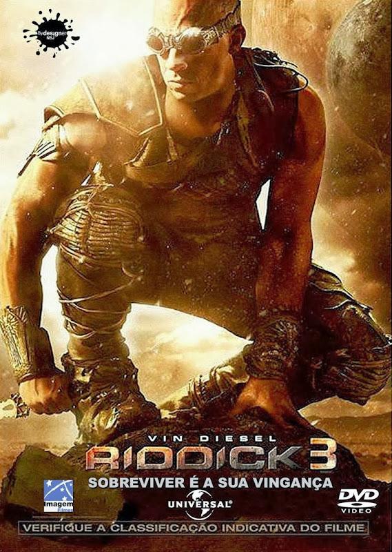 Filme Poster Riddick 3 DVDRip XviD Dual Audio & RMVB Dublado