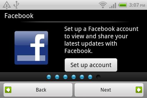 設定Facebook 帳號