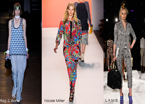 Inspected Trend Geometric Prints Rag and Bone Nicole Miller LAMB