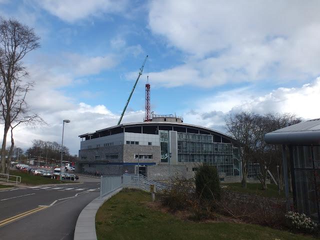Tower Crane Removal Garthdee