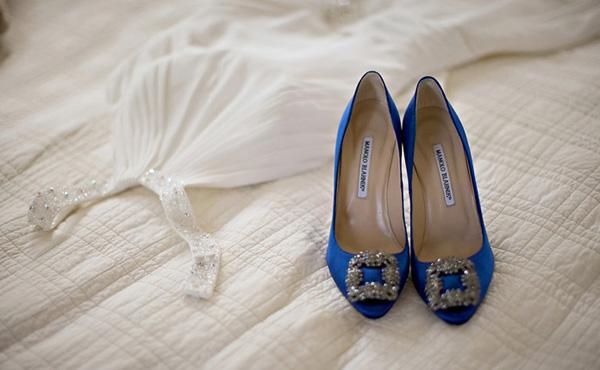 Manolo Blahnik Zapatos Azules Precio