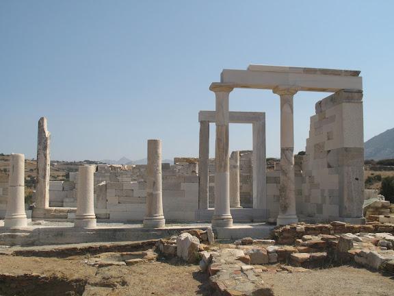 Templo de Démeter en Naxos