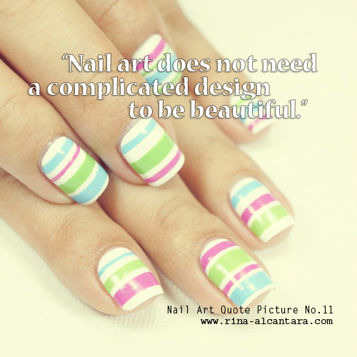 Nail Art Quote Picture No.11