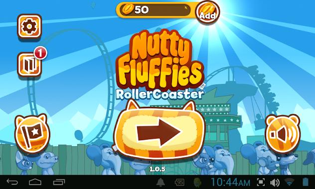 Nutty Fluffies Rollercoaster | เกมสรถไฟเหาะสุดระทึกกึ๋กกึ๋ย | โหลดเกมส์แอนดรอยด์ฟรี