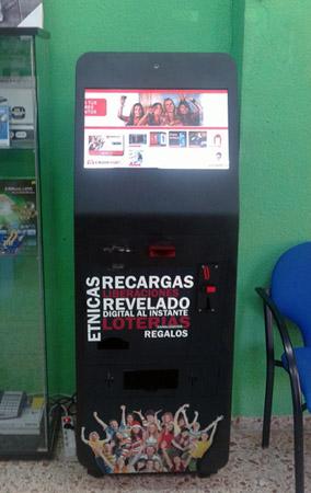 Fotos, Canalización Lotería, Recargas…