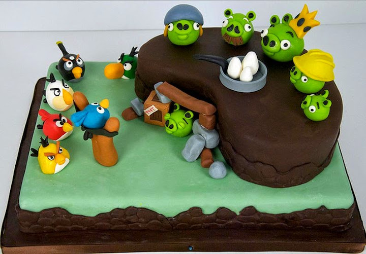 50 Best Angry Birds Birthday Cakes Ideas And Designs iBirthdayCake