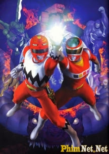 Super Sentai 22 - Gingaman - Seijuu Sentai Gingaman - 1998