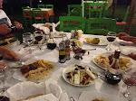 Premier repas grec - Korinos beach