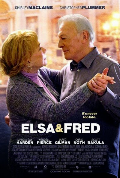 Poster Of English Movie Elsa and Fred (2014) Free Download Full New Hollywood Movie Watch Online At alldownloads4u.com