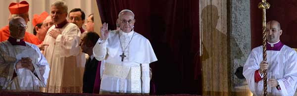Jorge Mario Bergoglio, nuevo Papa