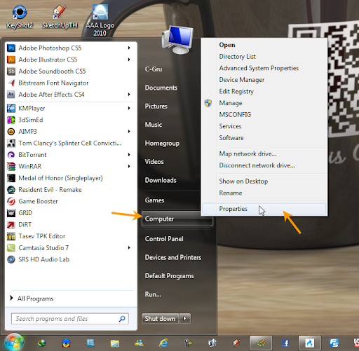 อยากทราบวิธีการแก้ปัญหาตอนเราขยับหน้าต่างProgramครับ [ตอบแล้ว] Windowsdarg02