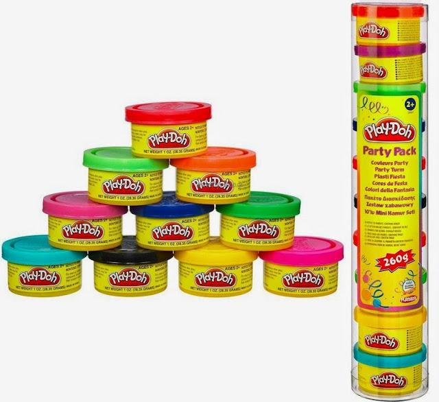 Ống Bột nặn 10 màu khác nhau của Play-Doh