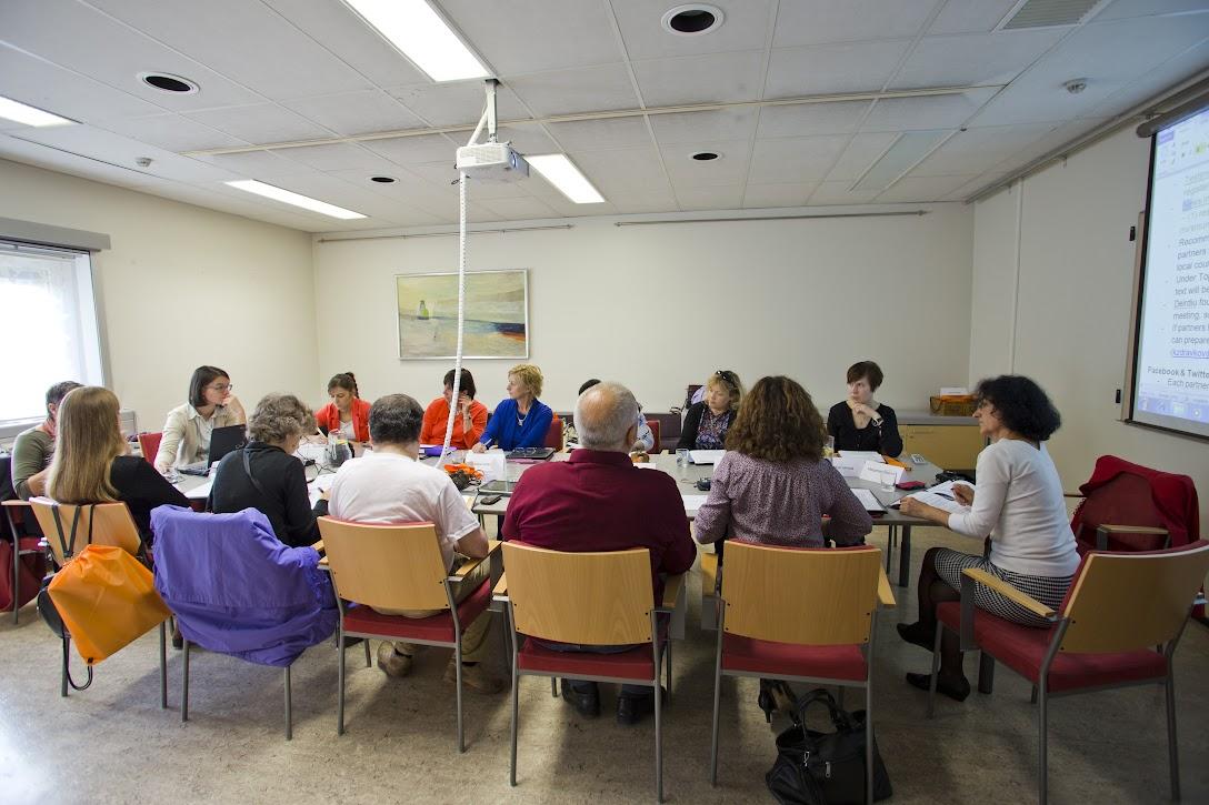 Delovno srečanje partnerjev projekta
