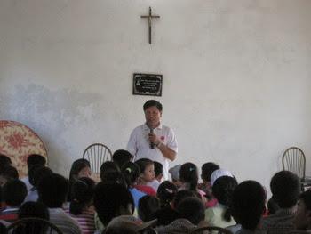 """Caritas đến với nhóm """"Mái ấm tình thương"""" Ân Hòa - Kim Định"""