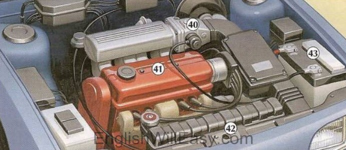 Picture Dictionary: Parts of a Car and Car Maintenance/Picture ...