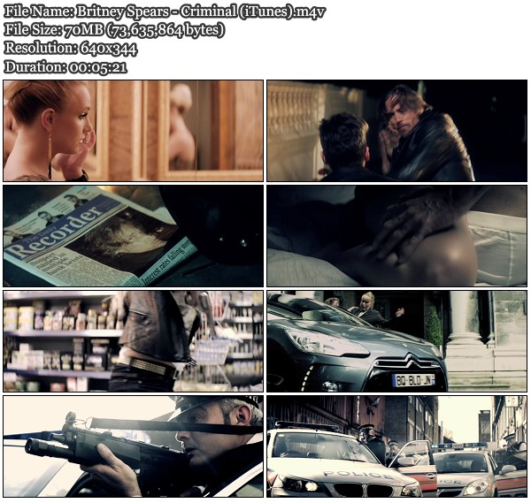 Britne ySpears Criminal HD Official Music Video Download
