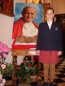 Laureatka i finalistka Konkursu Biblijnego w Szkole Podstawowej