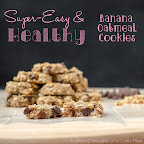 No Butter or Added Sugar Banana Oatmeal Cookie