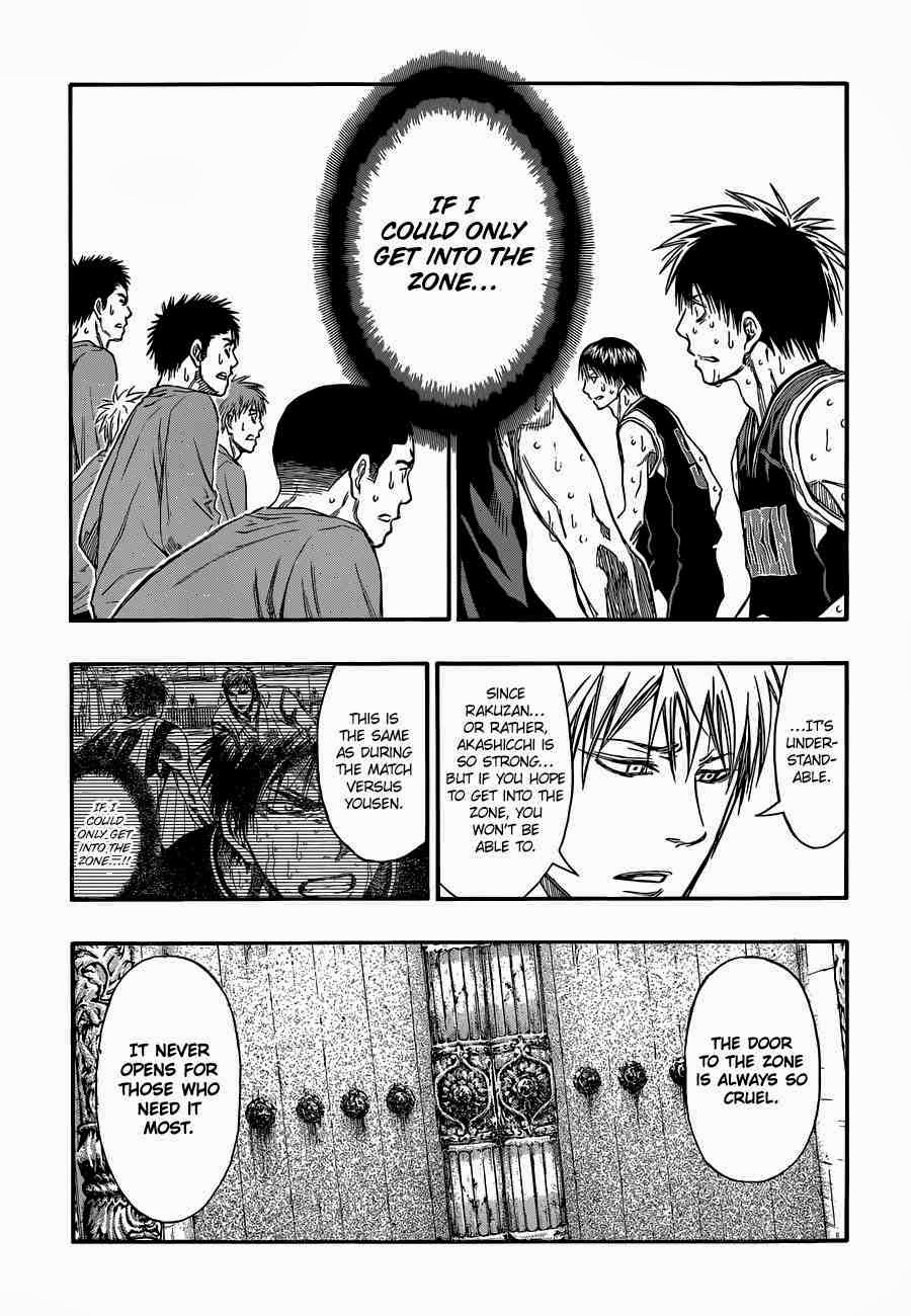 Kuroko no Basket Manga Chapter 247 - Image 09