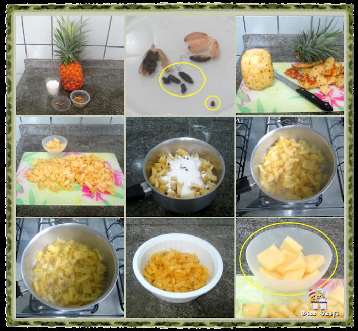 Torta de coco e abacaxi 6