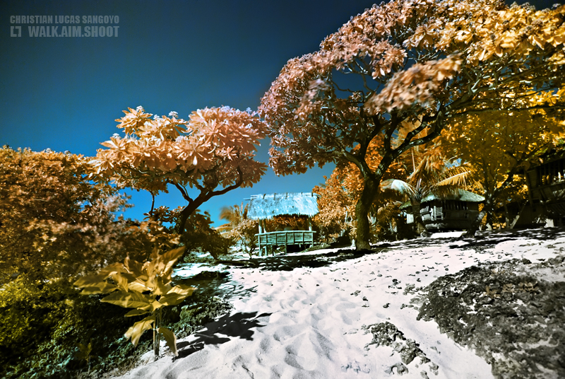 Patar, Bolinao on Infrared Light