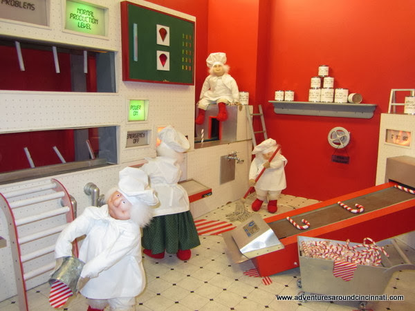 Shillito's Elves Candy Cane Factory