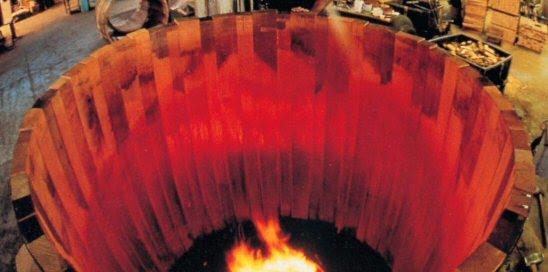 Ψήσιμο ξύλινης δεξαμενής κρασιού Garbellotto