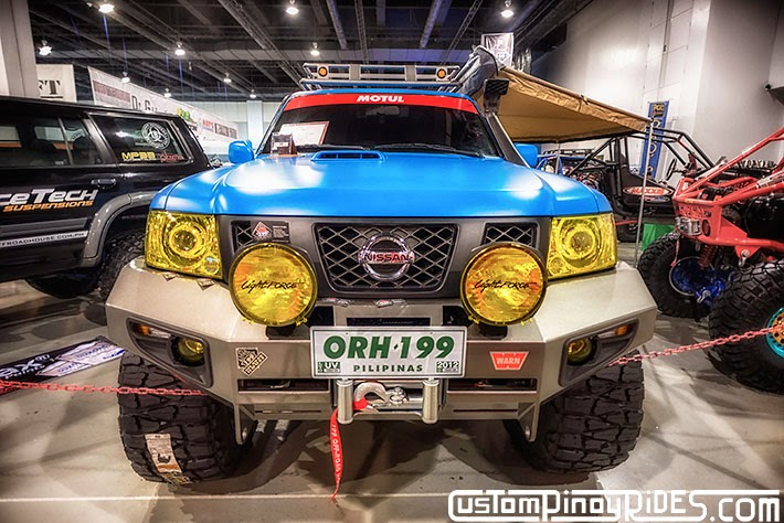 Some of the Best Modified 4x4s of 2013 Manila Auto Salon Custom Pinoy Rides Car Photography Philippines Philip Aragones Nissan Patrol2