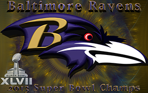 Baltimore Ravens Super Bowl Champions Wallpaper