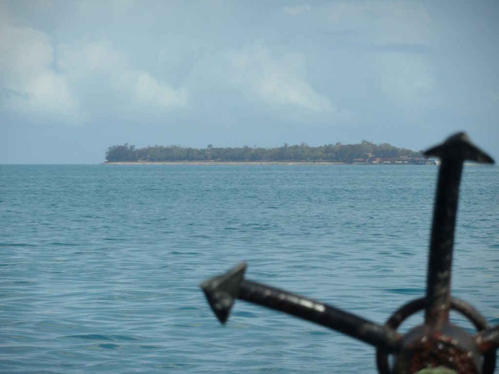 Prison adasına giderken