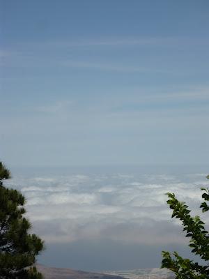 Wolken über dem Norden Gran Canarias.
