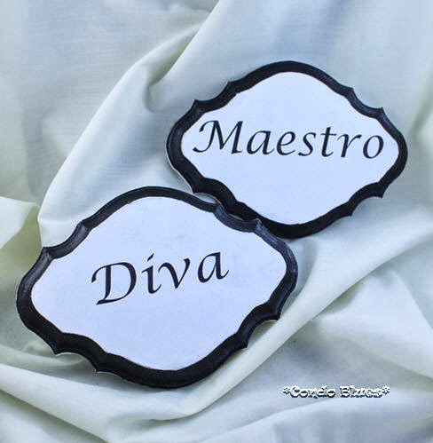 DIY Diva and Maestro sign