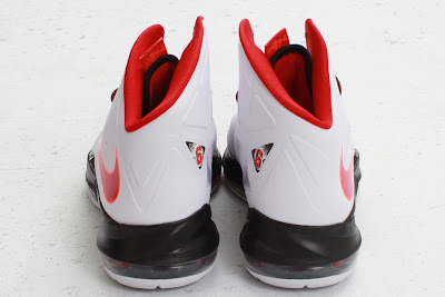 nike lebron 10 gr miami heat home 5 04 Nike LeBron X HOME Arriving at Retailers   New Images