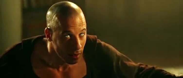 Screen Shot Of Hollywood Movie The Chronicles of Riddick (2004) In Hindi English Full Movie Free Download And Watch Online at Alldownloads4u.Com