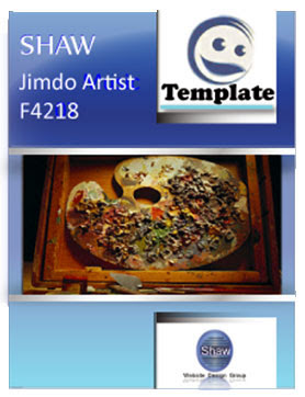 Jimdo Artist template by Shaw