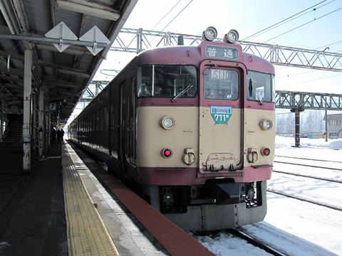 JR北海道 711-210 滝川駅にて その1
