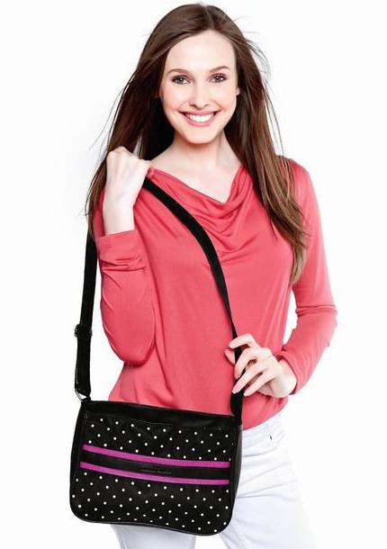 Túi đeo chéo Sophie Delattre - NM26FBK