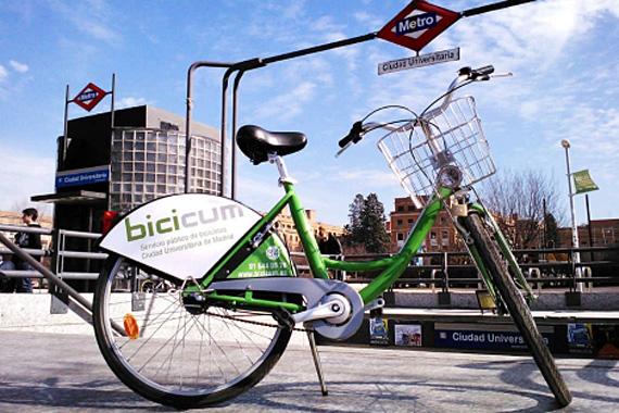 Las bicis no ruedan por la Ciudad Universitaria