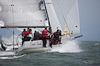 J/125 sailing Pacific