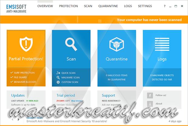Emsisoft Anti-Malware 10
