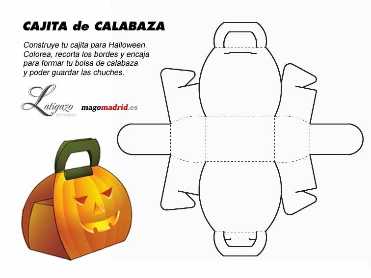 Cajita de calabaza para Halloween | Mago Madrid