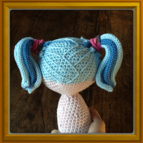 Amigurumi, crochet and sewing: Tips on how to create hair for your ...