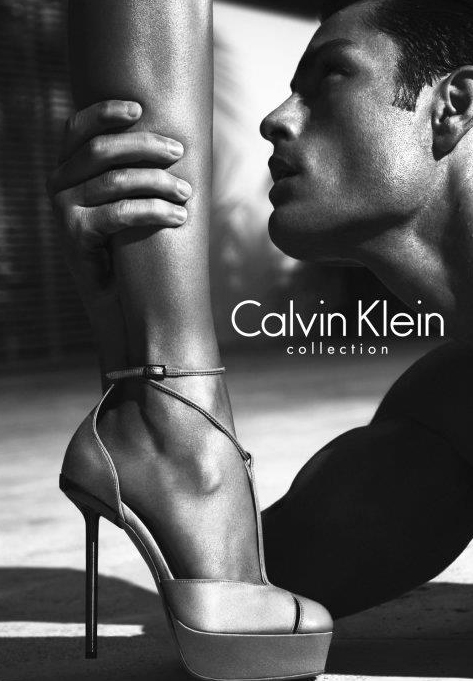 Tyson Ballou + Lara Stone for Calvin Klein Collection S/S 2012.  Ph: Mert & Marcus